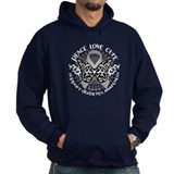 Diabetes Butterfly Tribal Hoodie