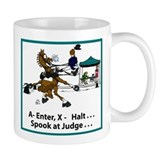 Dressage Horse Spook Mug