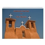 Churches of New Mexico Wall Calendar
