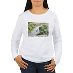 Santa Ana River Yeti Women's Long Sleeve T-Shirt