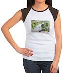 Santa Ana River Yeti Women's Cap Sleeve T-Shirt