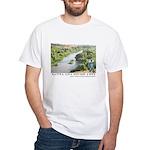 Santa Ana River Yeti White T-Shirt