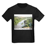 Santa Ana River Yeti Kids Dark T-Shirt