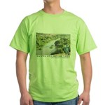 Santa Ana River Yeti Green T-Shirt