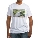 Santa Ana River Yeti Fitted T-Shirt