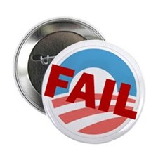 "Obama Logo Fail, 2.25"" Button"