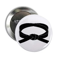 "Black Belt 2.25"" Button (10 pack)"