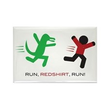 Run, Redshirt, Run! Rectangle Magnet