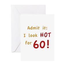 Sexy 60th Birthday Greeting Card