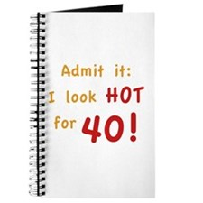 Sexy 40th Birthday Journal