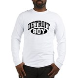 Detroit Boy Long Sleeve T-Shirt