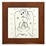 Unique Pregnancy guide Framed Tile