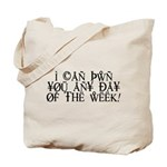 Pwn You Any Day Tote Bag