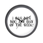 Pwn You Any Day Wall Clock