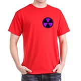 Radiation Symbol (purple) T-Shirt