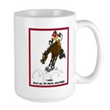 Bucking English Horse Coffee Mug