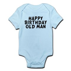 Birthday Old Man Infant Bodysuit