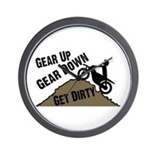 Get Dirty Wall Clock