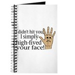 High Fived Face Journal