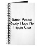 No Friggin Clue Journal