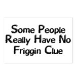 No Friggin Clue Postcards (Package of 8)