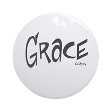 Grace Ornament (Round)