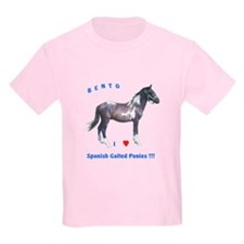 Kids T-Shirt, Spanish Gaited Pony