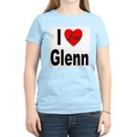 I Love Glenn (Front) Women's Light T-Shirt
