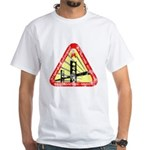 Starfleet Academy (worn look) White T-Shirt