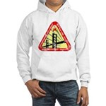Starfleet Academy (worn look) Hooded Sweatshirt