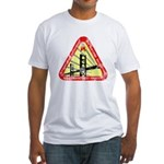 Starfleet Academy (worn look) Fitted T-Shirt