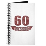 60th Birthday Classic Journal