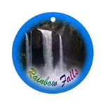 Rainbow Falls Ornament (Round)