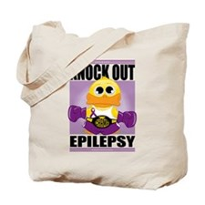Knock Out Epilepsy Tote Bag