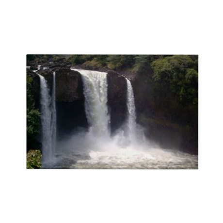 Rainbow Falls Rectangle Magnet