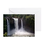 Rainbow Falls Greeting Cards (Pk of 10)