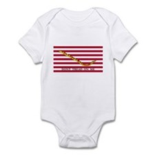 Naval Jack Don't Tread on Me Flag Infant Bodysuit