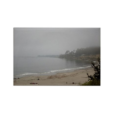 New Brighton Fog Rectangle Magnet