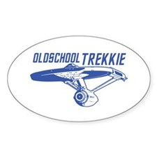 OldSchool Trekkie Decal