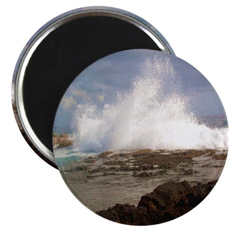 Ocean Crash Photo Magnet