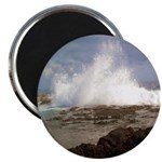 Ocean Crash Photo Magnet