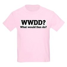 What would Dan do? Kids T-Shirt