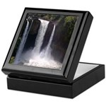 Rainbow Falls in Spring Keepsake Box