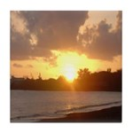 Hilo Sunrise Tile Coaster