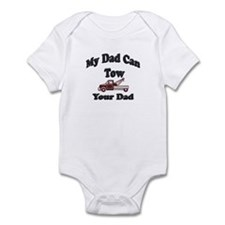 Funny Tow truck Infant Bodysuit