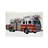 Firetruck Design Rectangle Magnet (100 pack)