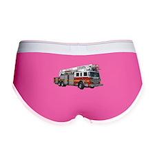 Firetruck Design Women's Boy Brief