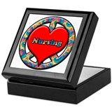 Cute Nursing school Keepsake Box
