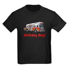 Birthday Boy Fire Truck T