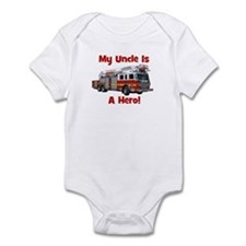 Uncle Is My Hero FireTruck Infant Bodysuit